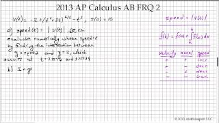 2013 ap calculus ab frq 2