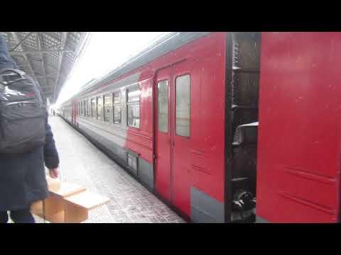 Электропоезд ЭД4М-0067 платформа Выхино 26.12.2018