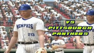 MVP 06 NCAA Baseball PS2 Memphis Tigers Dynasty Gameplay Ep.1 -  Pittsburgh Panthers