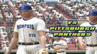 MVP 06 NCAA Baseball PS2 Memphis Tigers Dynasty Gameplay Ep.1 -  Pittsburgh Panthers