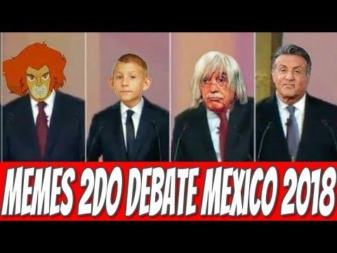 Memes Segundo Debate Presidencial Mexico 2018 #DebatesMx #DebateINE