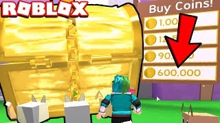 HOW TO GET 600,000+ COINS FOR FREE IN THE BEGINNING - Roblox Pet Simulator *NEW*