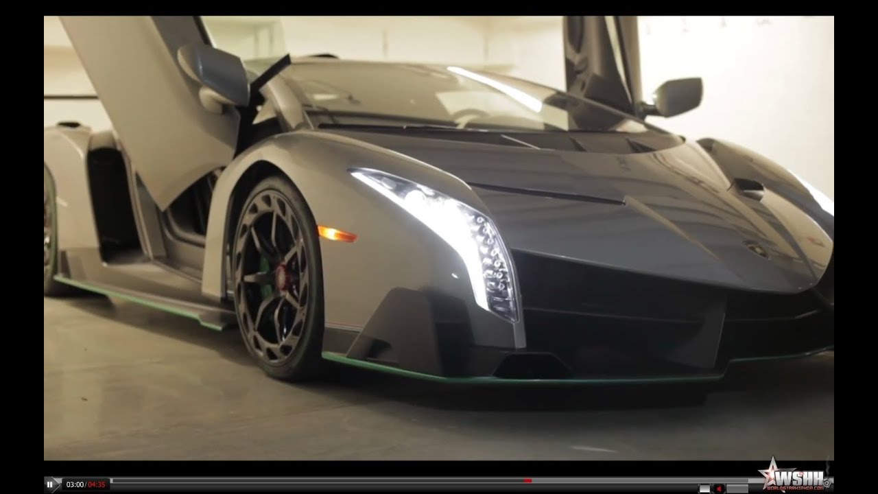 Lamborghini Veneno 4 Million Dollar Car Youtube