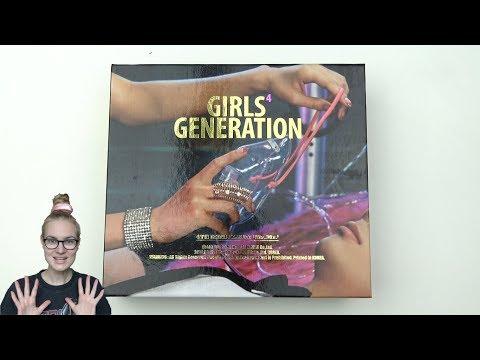 Unboxing Girls' Generation 소녀시대 4th Korean Mini Album Mr.Mr.