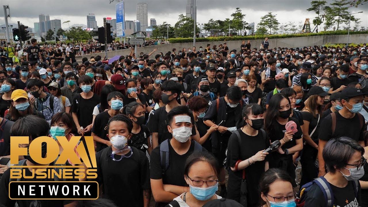 Will Hong Kong protests interfere with U.S.-China trade talks?