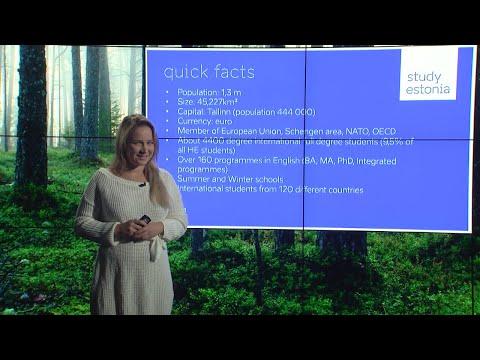 "Presentation: ""Studying in Estonia"""