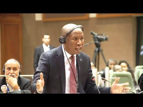 Julius Malema Lectures Pan-African Parliament
