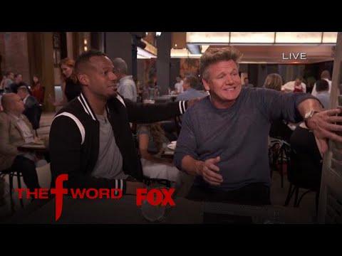 Marlon Wayans Describes Geoduck To Gordon Ramsay | Season 1 Ep. 6 | THE F WORD