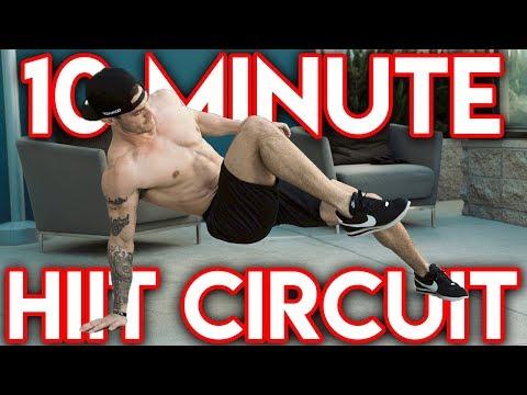 10 Minute HIIT Workout (Follow Along!)
