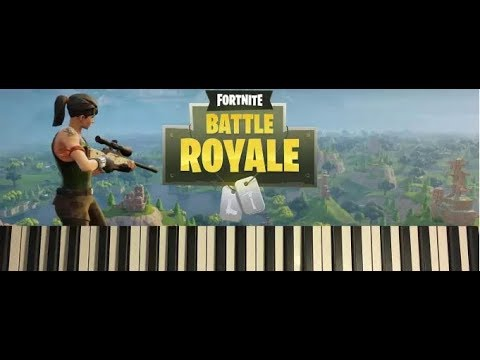 Fortnite - Play The Music Sheet At The Piano Near Pleasant Park Guide - Stage 2