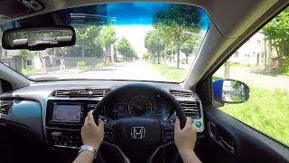 【Test Drive】 2017 New Honda Grace (CITY) Hybrid 4WD - POV City Drive