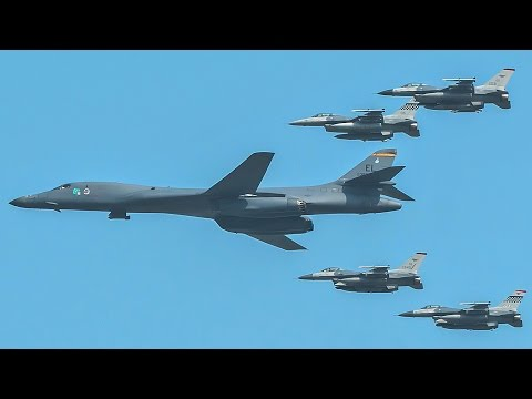 US Sends Message To Kim Jong-Un – Strategic Display Of Airpower Over S. Korea