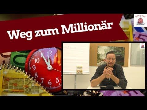 Der Weg zum Millionär - Umsetzen & Ziele einteilen