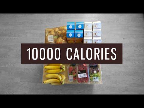FRUIT/VEG ONLY 10000 Calorie Challenge!