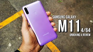 Samsung Galaxy M11 Unboxing & Review [4/64] !
