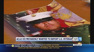 Family baffled by veteran's ICE detention An investigation is underway into how a U.S. citizen and military veteran ended up in an immigration detention center, threatened with deportation. (Jan., From YouTubeVideos