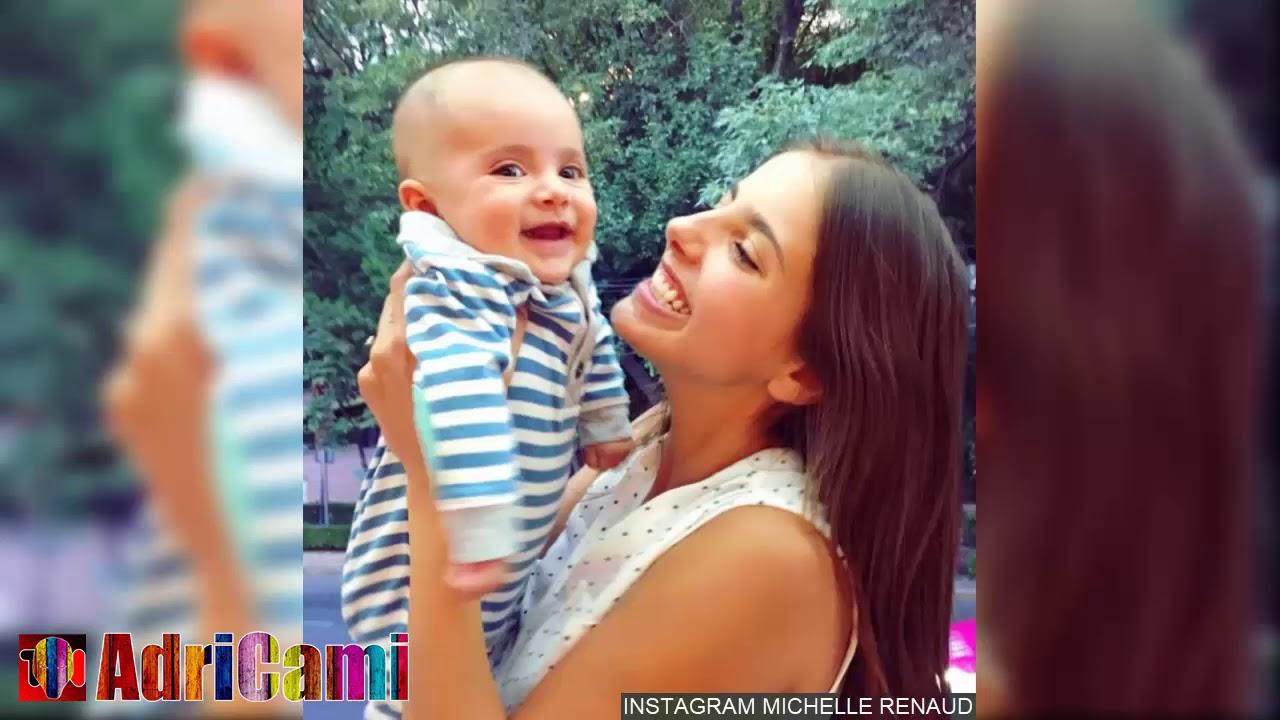 Primer año de vida del hijo de Michelle Renaud en 12 + 1 tiernas fotos