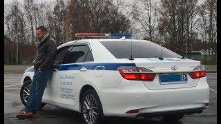 Полицейская Toyota Camry | Мифы Про Тонировку | Тойота Камри Дпс Гибдд | #Мужскойразговор