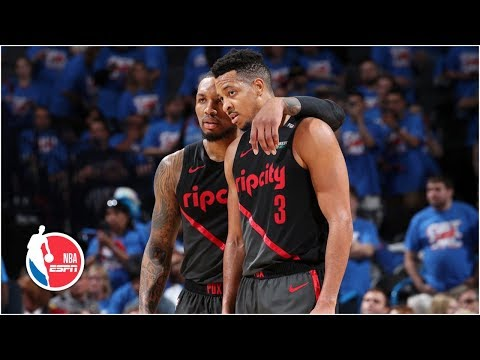 Blazers Lillard and McCollum combine for 51 points in Game 4 win  NBA Highlights