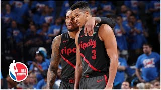 Damian Lillard and CJ McCollum combine for 51 points in Blazers' Game 4 win | NBA Highlights