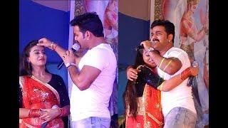 Pawan Singh, Akshara Singh Superhit Stage Show 2018 Sandesh.mp3