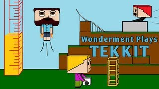 #19 Wonderment Plays Tekkit - I Always Believe in My Feet!