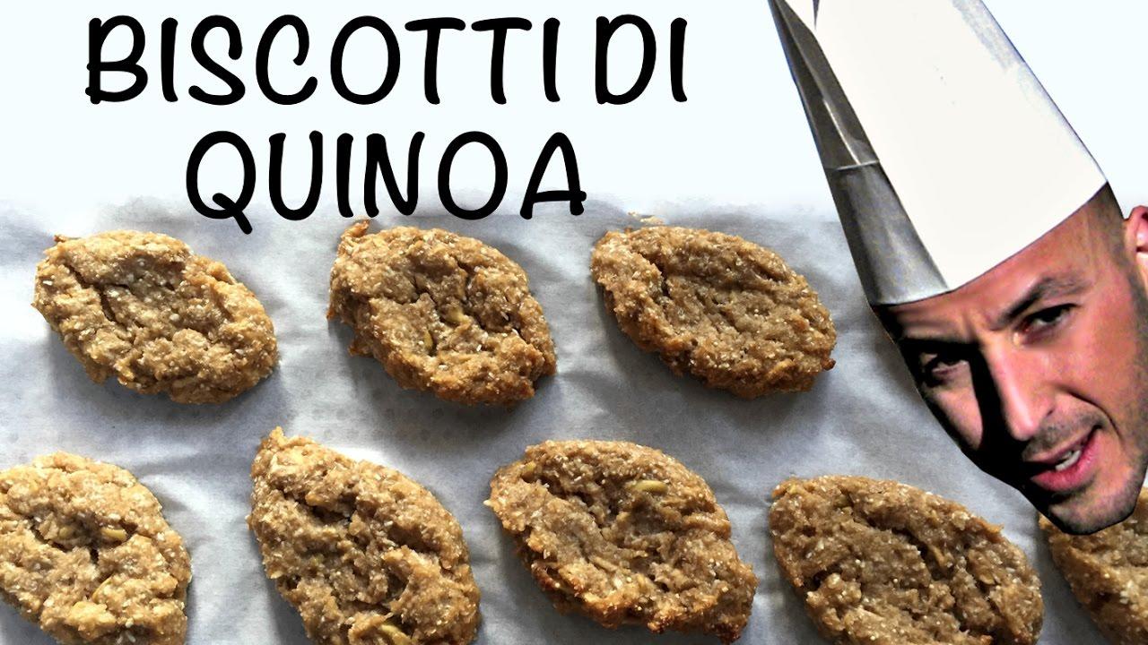 Biscotti di quinoa , Il Tutorial