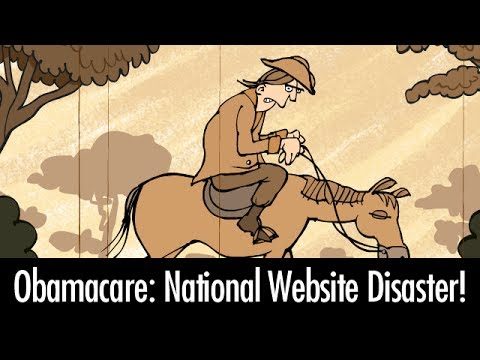 Obamacare: National Website Disaster!