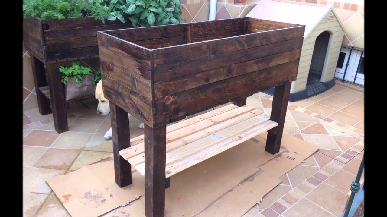 Contruir mesa de cultivo para nuestro huerto urbano youtube - Mesa para huerto urbano ...