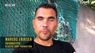 Marcus Eriksen: why I support the Plastic Soup Foundation.
