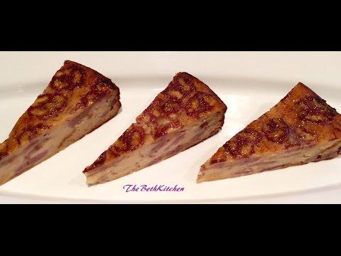Bánh Chuối Nướng - Baked Banana Cake