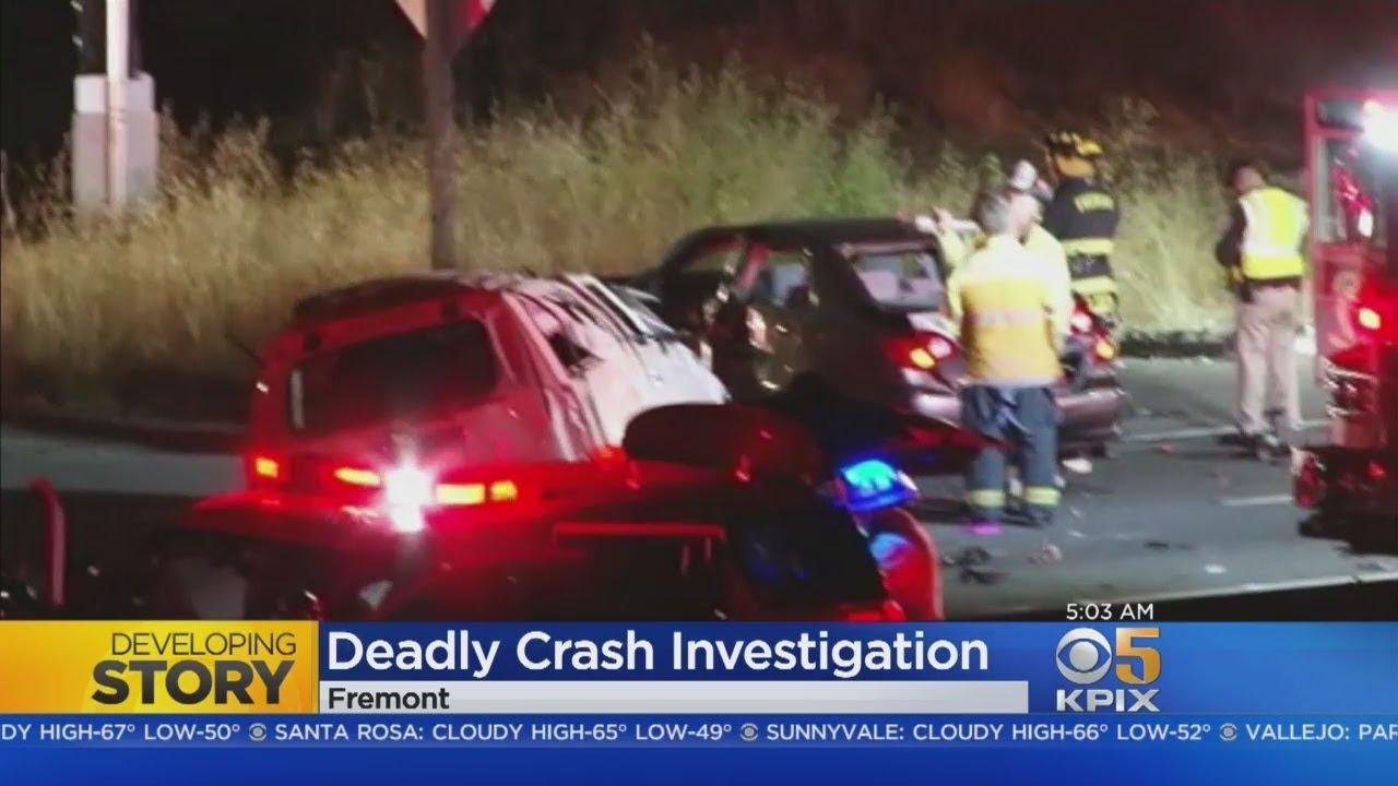 Two children, adult dead in I-880 crash in Fremont