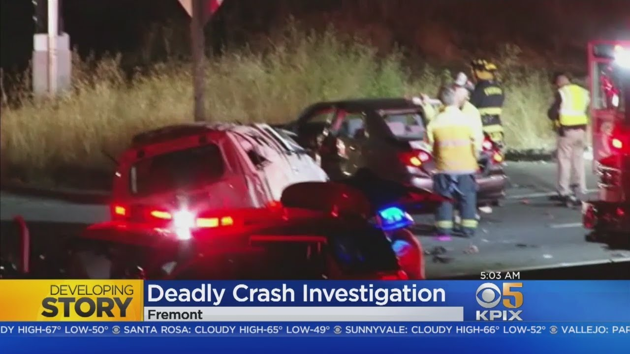 FATAL CRASH: Three die in horrific 880 crash