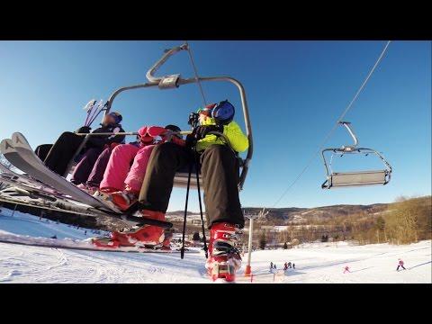 Lądek Zdrój - stok narciarski (GoPro)