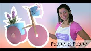 Bicicletinha de CD - Artesanato Passo a Passo Já