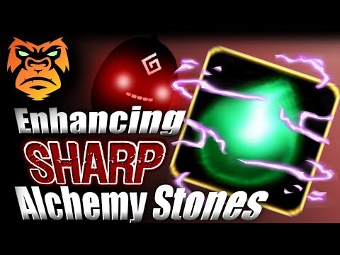 Sharp Alchemy Stone Enhancing | THE WORST ENHANCING IN THE GAME | Black Desert Online  [ PC Xbox ]