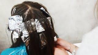 Мелирование волос: как легко и быстро сделать мелирование дома!
