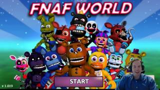 fnaf world intro freddy nose honk five nights at freddy s world 1