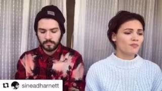 """cranes in the sky"" Sinead Harnett x Crayon cover"