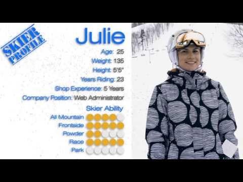 Julie's Review - Salomon Bamboo Skis 2014 - Skis.com