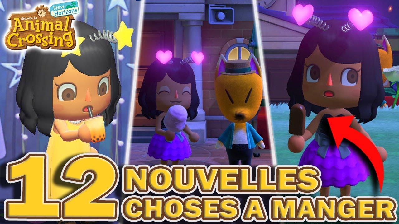 LES 12 NOUVEAUX LOTS ET NOURRITURE DE LA LOTERIE ROUNARD ! 🍦 | Animal Crossing New Horizons