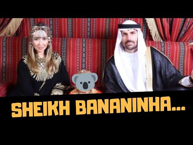 SHEIKH BANANINHA EM DUBAI!