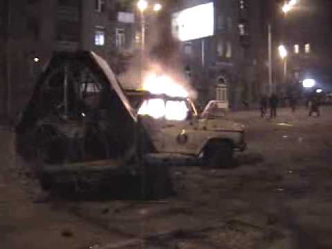 Clashes In Yerevan March 2, 2008
