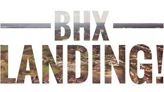Landing at Birmingham Airport (BHX)