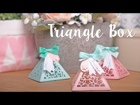 How to Make a Triangle Gift Box - Sizzix
