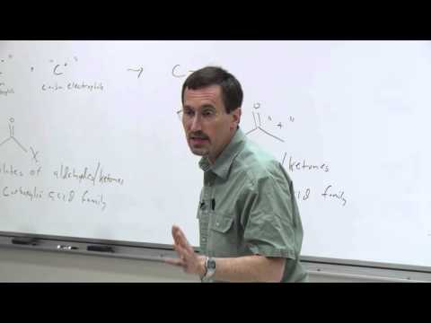 Chem 125. Advanced Organic Chemistry. 17. The Carbonyl Group in Carbon-Carbon Bond Formation.