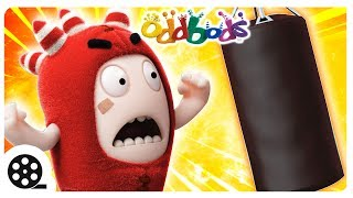 ODDBODS WORKOUT ROUTINE | Funny Cartoons For Children | The Oddbods Show