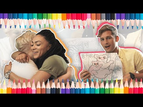 You'll Never Guess Who Ambers Closet Used To Crush On | Coloring With Max And McKenna