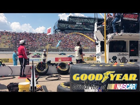 Goodyear Tires, The Official Tire Of NASCAR,  At Michigan International Speedway