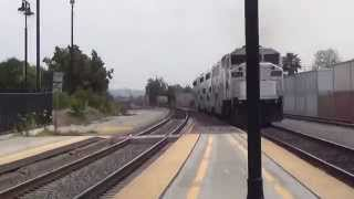 Metrolink 863 is Leaving Glendale Train station in LA